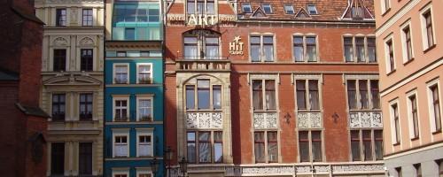 Wrocław - Art Hotel, ul Kiełbaśnicza 20