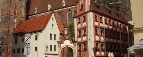 Wrocław - Kamienice Jaś i Małgosia, ul. Świętego Mikołaja 1