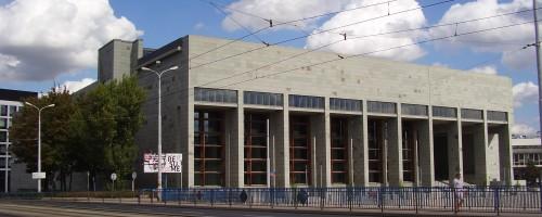 Wrocław - Biblioteka Uniwersytetu Wrocławskiego, ul Fryderyka Joliot-Curie 12