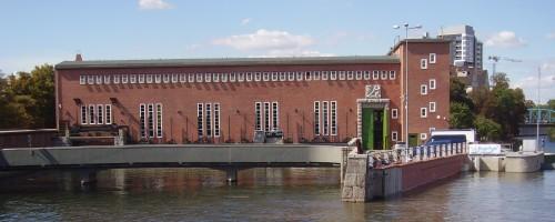 Wrocław - Zespół elektrowni wodnych, ul. Nowy Świat 46